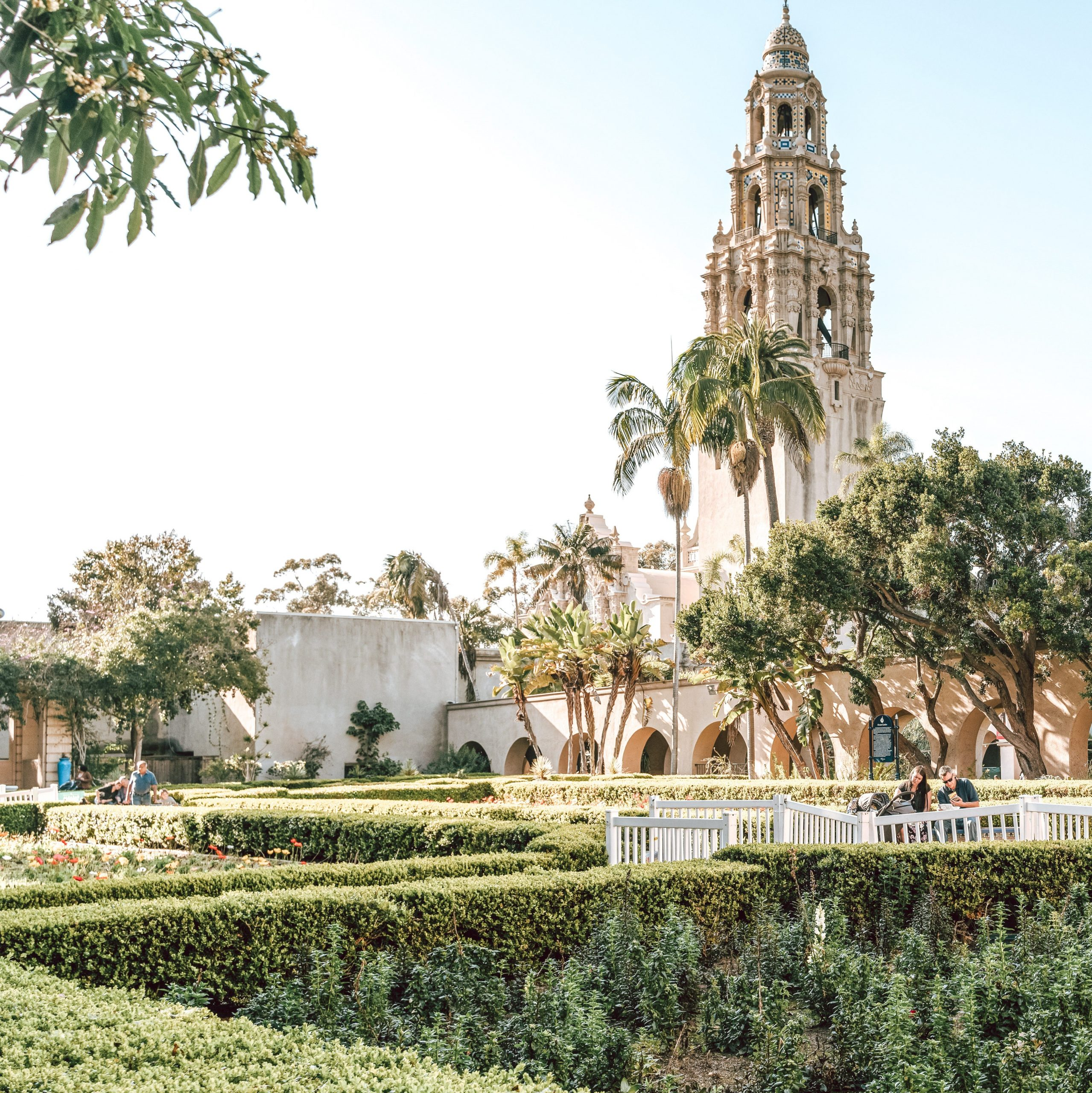 You can spend a day or more discovering Balboa park on your girls' getaway in San Diego.