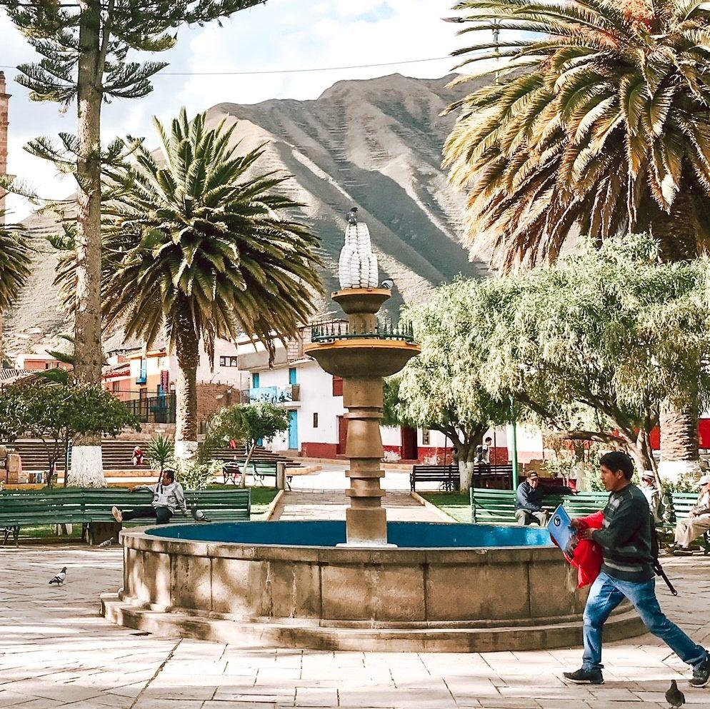 Sacred Valley - Urubamba square