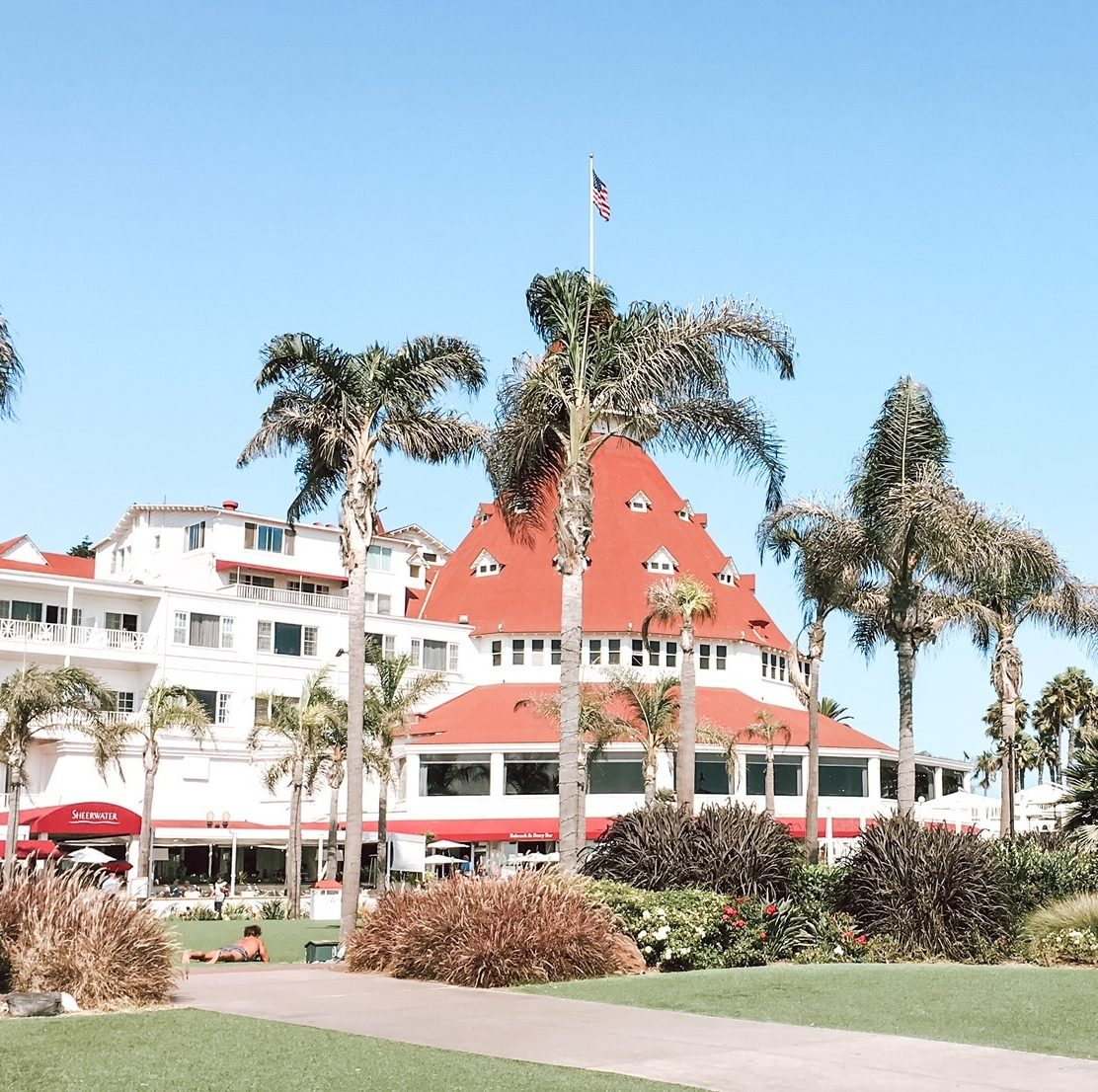 The Hotel Del provides a touch of luxury for your girls' getaway in San Diego.